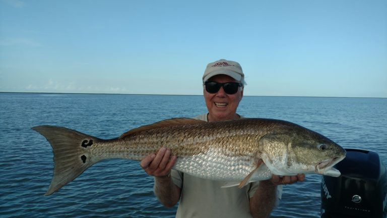 Louisiana Bull Redfish Fishing Guide mel1