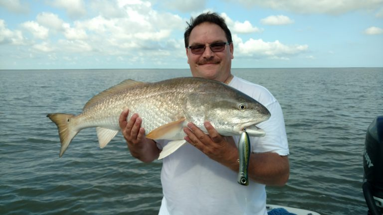 Louisiana Bull Redfish Fishing Guide mel2